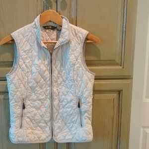Cream Eddie Bauer vest small